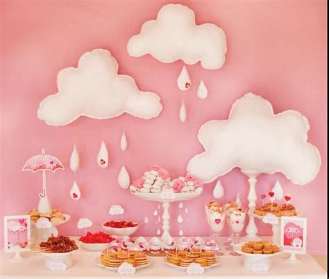 Girly Baby Shower Theme Ideas by Funfetti Girly Baby Shower Ideas And 1st