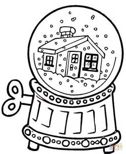 snow globe coloring page snow globe coloring page free printable coloring pages