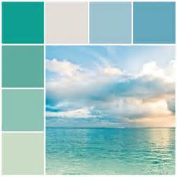 coastal paint colors best 25 color schemes ideas on