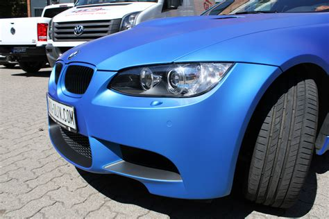 Auto Folie Blau Metallic Matt by Bmw M3 In Blau Matt Metallic Nato Oliv