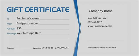 Editable Gift Card Template by Editable Gift Certificate Template Free Ideal Vistalist Co