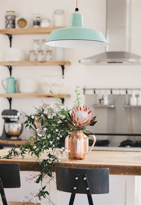 rose themed kitchen how to style copper in the kitchen glitter inc