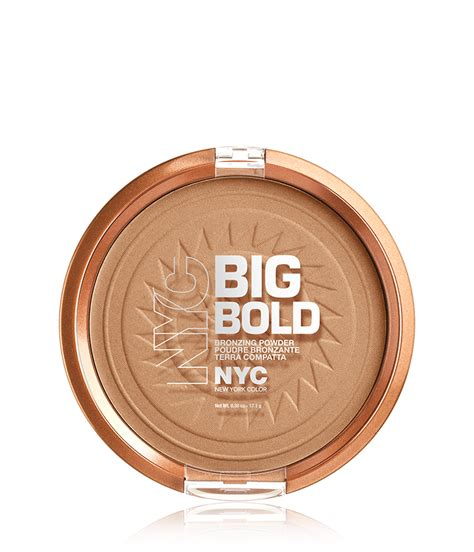 Nyc New York Color Smooth Skin Bronzing Powder In Skin Care Makeup Clearance Big Bold Bronzer New York Color
