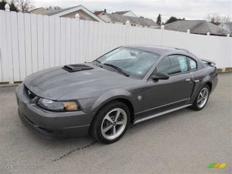 2004 mustang colors 2004 shadow grey metallic ford mustang mach 1 coupe