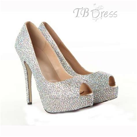 tbdress black friday silver prom shoes best silver
