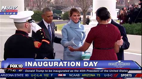 donald j trump inauguration day white house magnet historic moment the trumps arrive at white house on