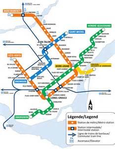 montreal metro map canada