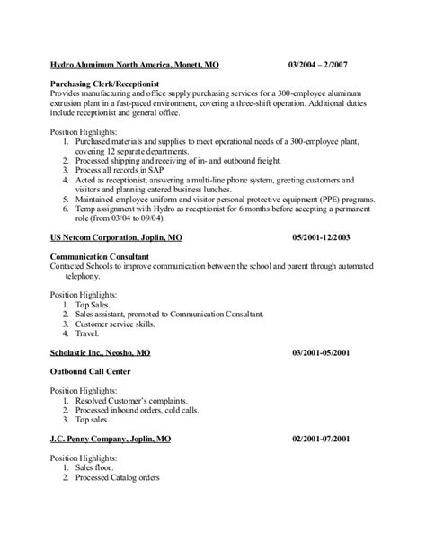 awesome fast paced environment resume sle pictures resume sles writing guides for all