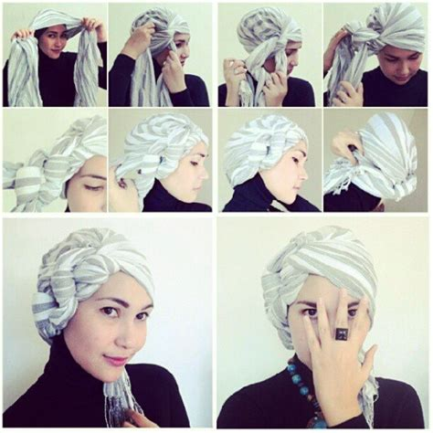 tutorial turban bandana 27 best images about hijab turbans headwraps on