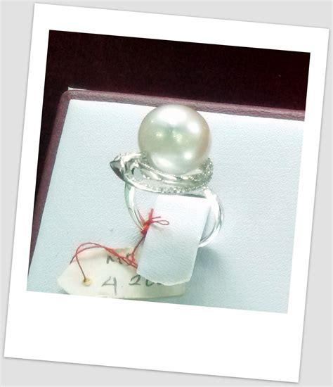 Set Chanel Zircont Mutiara Lombok 1 cincin mutiara emas 0123 harga mutiara lombok perhiasan toko emas terpercaya jual