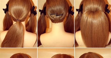 diy how to stunning roll up wedding updo hairstyle tutorial fashionforlife1