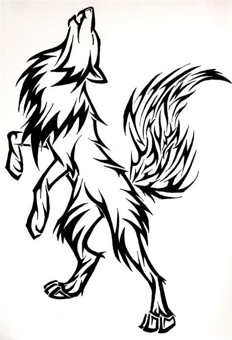 wolf butterfly tattoo designs ideas design