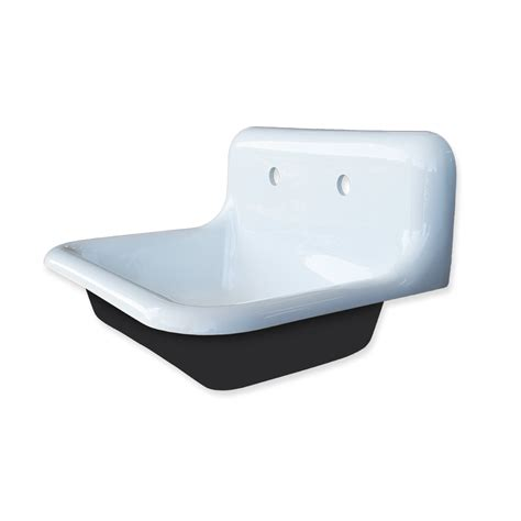 high back wall mount sink single basin wall mountable high back bath sink tricorn