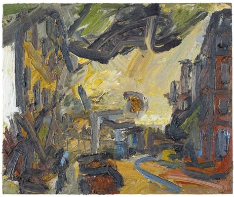 biography of theatre artist frank helmuth auerbach works on sale at auction