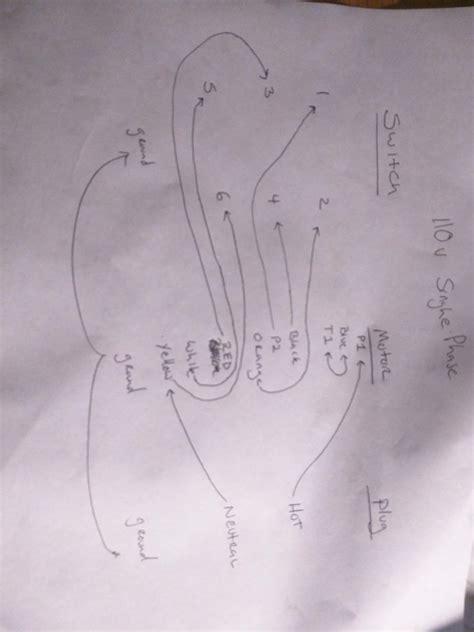 marathon motor  drum switch wiring diagram
