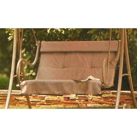 swing cushions home depot 2010 2 person swing replacement cushion garden winds