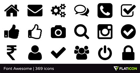 design with font awesome font awesome 365 free icons svg eps psd png files