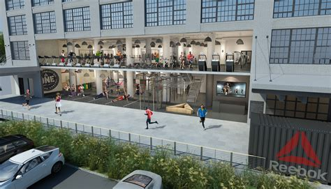 design center seaport incentive for reebok employees to hit the gym banker