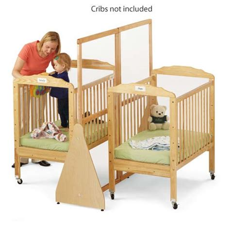 Crib Separator by Jonti Craft See Thru Crib Divider Large 1655jc Crib