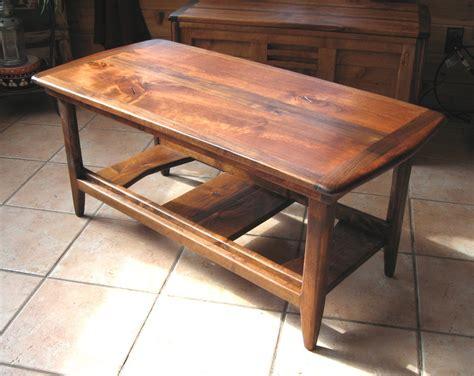 alder and walnut coffee table by rusticbru lumberjocks