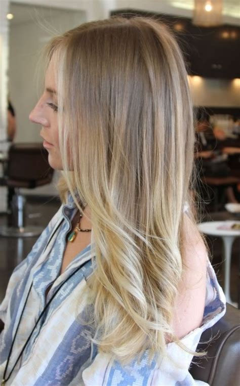 ombre hair growing out blonde ombr 233 perfection how i want my hair once i grow