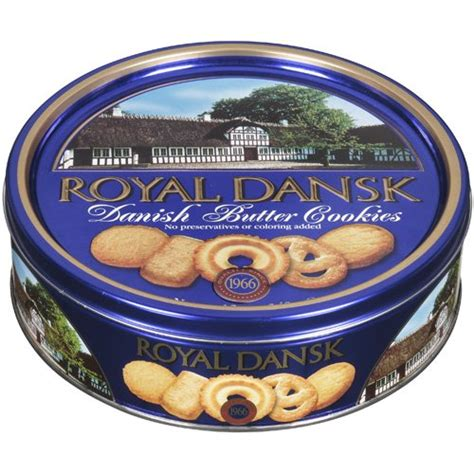 Butter Blue Triangle 340 Gram royal dansk butter cookies 12 oz tin can buy