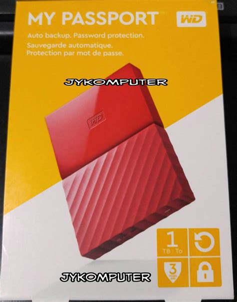Wd My Passport Ultra 1tb Harddisk External 25 jual wd my passport ultra 1tb hdd hd hardisk external 2 5