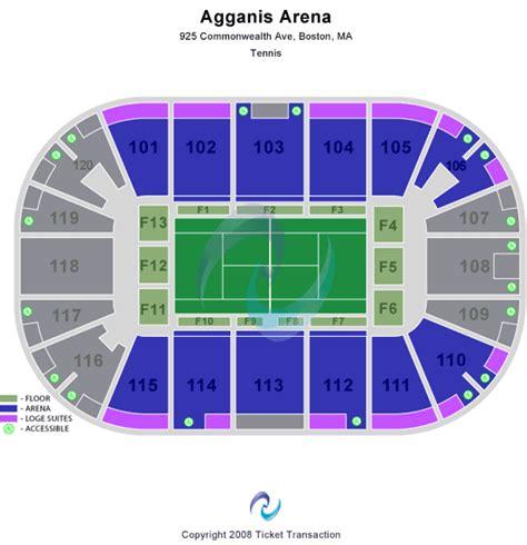 agganis arena seating view agganis arena seating chart