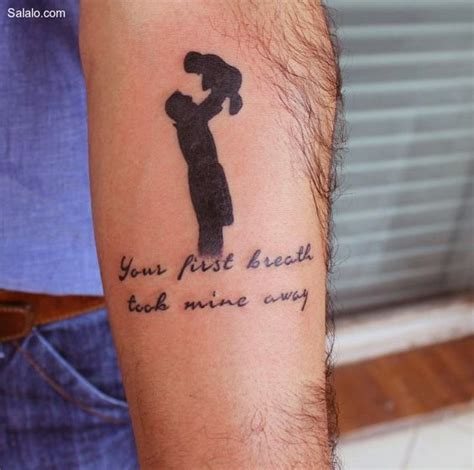 tattoo quotes for daughter to father top 50 best father son tattoos for men manly design