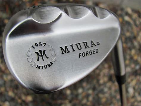 Wedge Custom Miura K Grind 1957 miura golf 1957 series k grind wedge japanese equipment