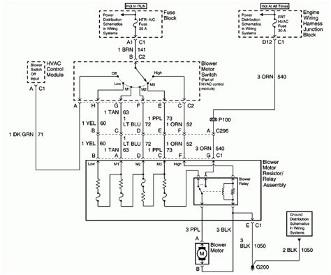 2000 chevy silverado hvac panel wiring diagram