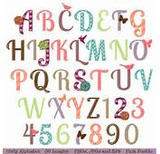 Girly Letter Fonts  Wwwetsycom/listing/114235950/girly Alphabet