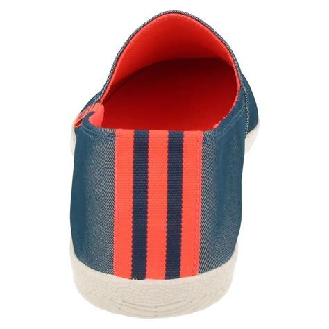 Adidas Slop Canvas adidas mens slip on textile canvas pumps casual shoes