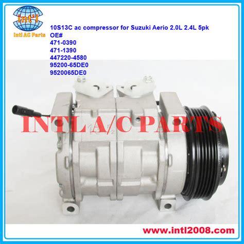 Magnet Magnit Clucth Pully Puly Puli Suzuki Aerio Newbaru 10s13c pv5 ac compressor for suzuki aerio 2 0l 2 3l 2002 2007 2003 2004 2005 2006 oem 95200