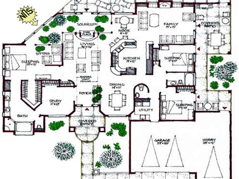 space efficient floor plans efficient small house plans open floor plans 1 story