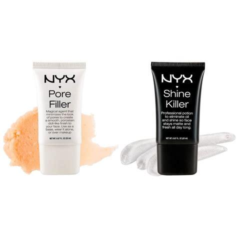 Nyx Pore nyx pore filler pof01 or shine killer sk01 foundation