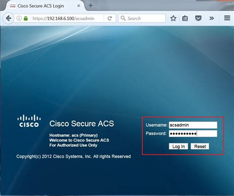 cisco login certificate signing request csr help cisco secure acs