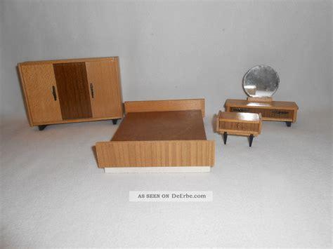 kommode vor bett ddr puppenstube komplettes schlafzimmer m 246 bel holz