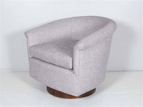 Mid Century Swivel Tub Chair For Sale At 1stdibs Swivel Tub Chair