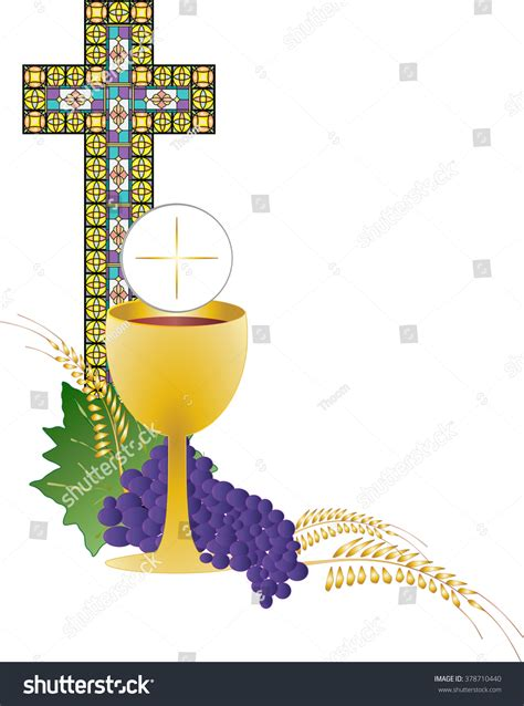 Clipart Chalice And Bread