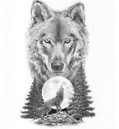 best 25 wolf and moon tattoo ideas on pinterest wolf
