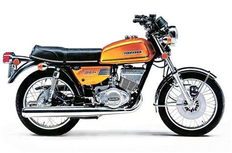 Suzuki 250 Gt Suzuki Gt250 Model History