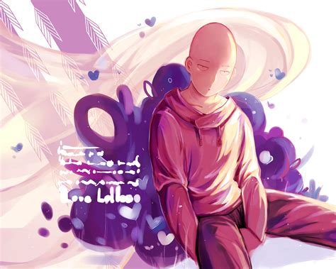 Jaket Anime Saitama Kuning One Punch gambar saitama anime one punch wallpaper gambar