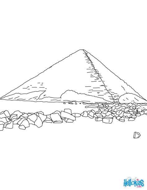 egyptian pyramids coloring page coloring coloring pages