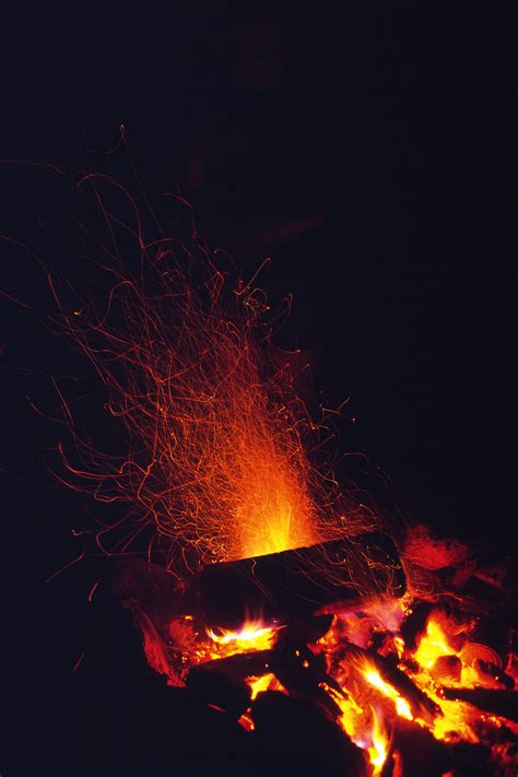 sparks  fire
