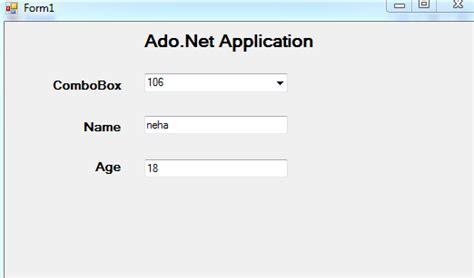 uws tutorial registration login ado net application my net tutorials