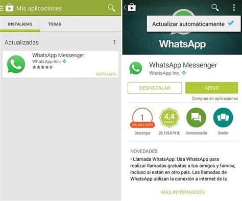 tutorial llamada whatsapp desactivar llamadas whatsapp
