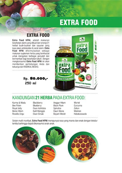 Food Hpai Herbal Nutrisi Penambah Nafsu Makan image gallery food