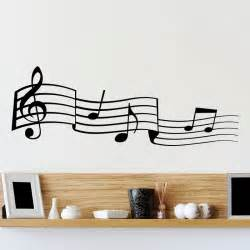 Musical Note Wall Stickers musical notes wall sticker world of wall stickers