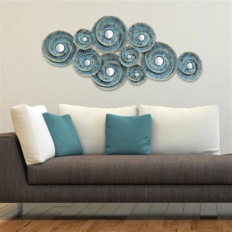 stratton home decor three hands metal wall decoration 82137 the home depot